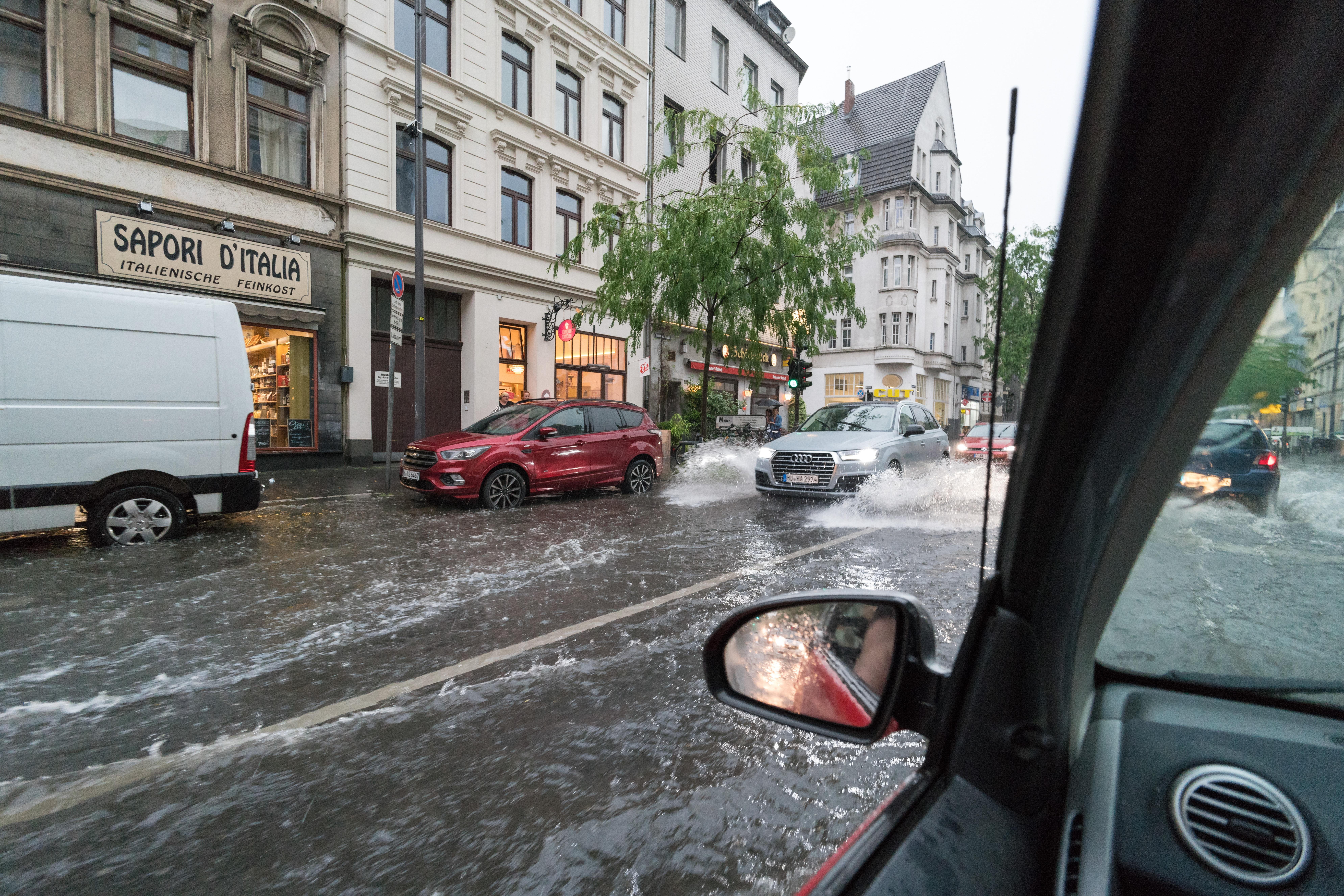Starkregen - mehr als nur ein Entwässungerungsproblem