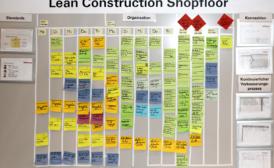 Erhöhung der Termintreue und Verstetigung der Prozesse mit Lean Construction System [LCS®]